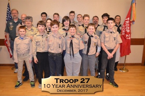 Boy Scout Troop 27 - Fox Island, WA