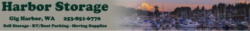 Gig Harbor Storage - Self Storage - RV Storage - Boat Parking
